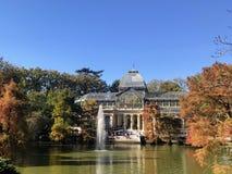 """Palacio de Cristal """"стеклянный дворец """" стоковые фотографии rf"""