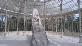 Palacio de cristal fotografia stock