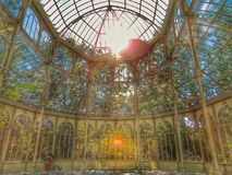 Palacio de Cristal Royalty Free Stock Photo