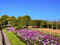 Palacio de Cristal Gardens in Porto. Jardins do Palacio de Cristal - Palacio de Cristal Gardens in Porto, Portugal Royalty Free Stock Photography