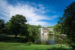 Palacio de cristal krystaliczny pałac w Buen Retiro parku - Madryt Zdjęcia Stock
