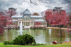 Palacio de Cristal, Madrid Imagenes de archivo