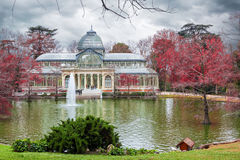 Palacio de Cristal, Madrid Stock Images