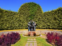 Palacio De Cristal Ogród w Porto Zdjęcia Royalty Free