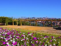 Palacio De Cristal Ogród w Porto Obrazy Royalty Free