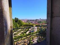 Palacio De Cristal Ogród w Porto Fotografia Royalty Free