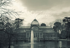 Palacio De Cristal, Parque Del Buen Retiro, Madryt Fotografia Royalty Free