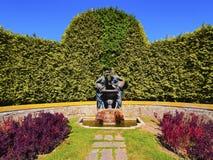 Palacio de Cristal Trädgård i Porto Royaltyfria Foton