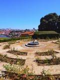 Palacio de Cristal Trädgård i Porto Royaltyfri Bild