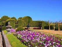 Palacio de Cristal Trädgård i Porto Royaltyfri Fotografi