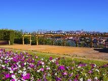 Palacio de Cristal Trädgård i Porto Royaltyfria Bilder