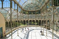 Palacio de crystal Stock Images