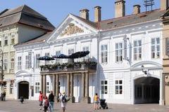 Palacio de Csaky-Dessewffy del clasicista en Kosice Fotos de archivo