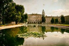 Palacio de Czartoryski en el 'de PuÅ awy Imágenes de archivo libres de regalías
