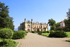 Palacio de Dadiani, parque Zugdidi, región de Adjara, Georgia fotos de archivo libres de regalías