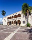 Palacio de Diego Columbus, Santo Domingo fotos de archivo