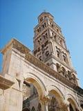 Palacio de Diocletian Imágenes de archivo libres de regalías