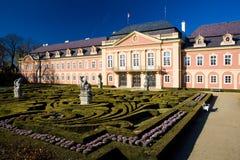 Palacio de Dobris Fotos de archivo