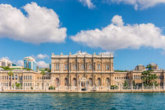 Palacio de Dolmabahce Fotos de archivo libres de regalías