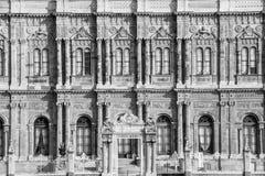 Palacio de Dolmabahce Imágenes de archivo libres de regalías