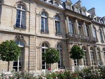 Palacio de Elysee Foto de archivo libre de regalías