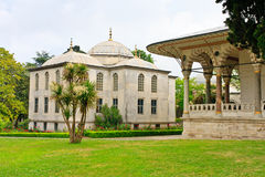 Palacio de Estambul Topkapi - biblioteca del sultán Imagen de archivo libre de regalías