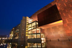 Palacio de Euskalduna Imagen de archivo libre de regalías
