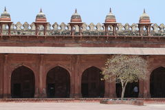 Palacio de Fatehpur Sikri de Jaipur en la India Foto de archivo