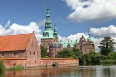 Palacio de Frederiksborg fotografía de archivo