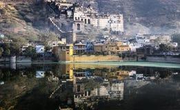 Palacio de Garh en Bundi, la India Fotos de archivo libres de regalías