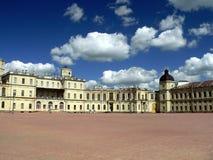 Palacio de Gatchina fotos de archivo