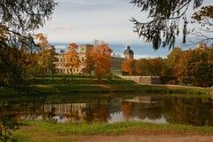 Palacio de Gatchina Imagen de archivo libre de regalías