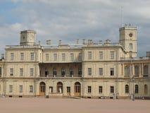 Palacio de Gatchina en el suburbio de St Petersburg Fotografía de archivo
