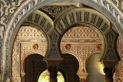 The Palacio de Generalife in Granada Stock Photos