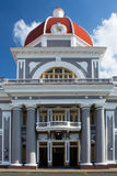 Palacio de Gobierno in Cienfuegos, Cuba Fotografia Stock