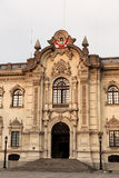 Palacio de Gobierno en Lima Imagenes de archivo
