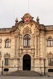 Palacio de Gobierno i Lima Arkivbilder