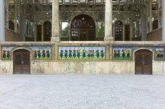 Palacio de Golestan, Teherán, Irán Imagen de archivo