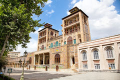 Palacio de Golestan, Tehran, Irán Fotografía de archivo libre de regalías