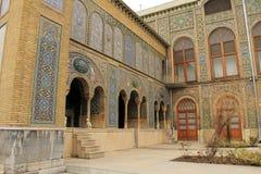 Palacio de Golestan, Tehran, Irán Foto de archivo libre de regalías
