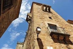 Palacio de Golfines, ciudad medieval, Caceres, Extremadura, España Fotografía de archivo
