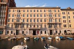 Palacio de Gopcevich, Trieste Fotos de archivo