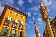 Palacio de Gran Guardia, Verona Foto de archivo libre de regalías