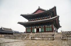 Palacio de GYEONGBOKGUNG Fotos de archivo libres de regalías