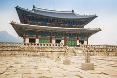Palacio de Gyeongbokgung Imagen de archivo libre de regalías