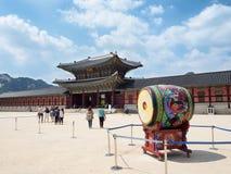 Palacio de Gyeongbokgung en Seul Foto de archivo libre de regalías