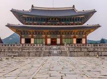 Palacio de Gyeongbokgung en Seul, Corea Imagenes de archivo