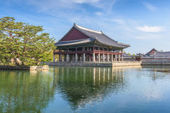 Palacio de Gyeongbokgung en Seul, Corea del Sur Imágenes de archivo libres de regalías