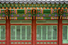 Palacio de Gyeongbokgung, Seul, Corea del Sur Fotos de archivo libres de regalías