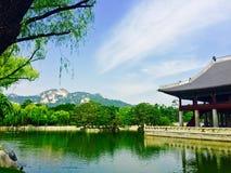 Palacio de Gyeongbukgong Imagenes de archivo